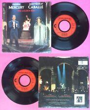 "LP 45 7"" FREDDIE MERCURY & MONTSERRAT CABALLE The golden boy QUEEN no cd mc dvd"