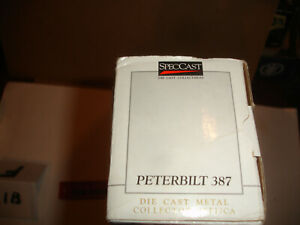 1/64 Peterbilt Semi with Minneapolis Moline Advertising