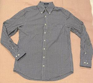 Gant Mens Check Long Sleeve Button Shirt Size M
