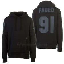 VOLCOM Mens 2016 Snowboard Black FADED PULLOVER DWR FLEECE Hoodie Sweater