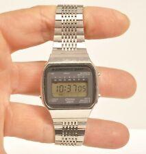 JUNGHANS 11/4931 Time Commander / Alarm Chrono LCD Quartz Herren Uhr Vintage