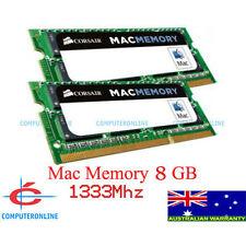 8GB 2X4GB DDR3 1333Mhz SODIMM Mac RAM MEMORY for Apple iMac MacBook Pro