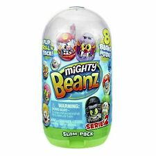 Mighty Beanz Slam Pack Series 2 With 8 Beanz Inside- free p&p