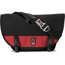 d8ecb2f577 Chrome Mini Metro Messenger Bag Weatherproof 20.5l Black Red Authentic USA