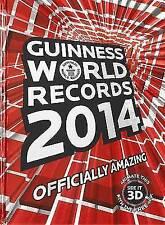 Guinness World Records 2014 by Guinness World Records (Hardback, 2013)