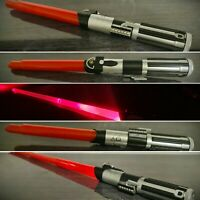 Star Wars Darth Vadar Lightsaber SFX Light Up Extendable Sound Hasbro 2015 RARE