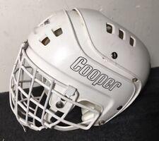 vtg Cooper Hockey Helmet Sk-600 jr white
