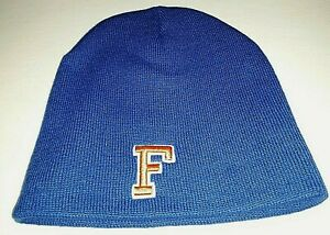 Florida Gators Blue EZ Doz It Top of the World No Cuff No Pom Knit Hat