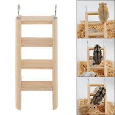 New listing 1Pc Hamster Ladder Stand Wooden Climbing Toy Solid Playing Accessories ProYjsg