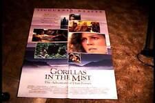 GORILLAS IN THE MIST ORIG MOVIE POSTER 1988 SIGOURNEY WEAVER