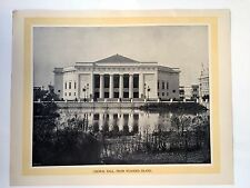 Vintage 1895 Jackson Famous Pictures Of Chicago World's Fair Set of 13 Pics-- 2