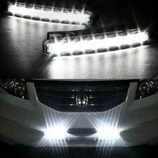 Car DRL Light Fog Driving Daylight Daytime Running LED Head Lamp White  8LED