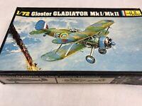 Gloster Gladiator MkI/MkII Heller 1/72 270 Model kit