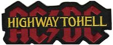 """""""ACDC"""" Highway to Hell Punk Rock Embroidered Iron on Patch"""