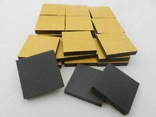 30 Schaumstoffpads Stapelscheiben Polster  Pads Abstandshalter 50 x 50 x 8  mm