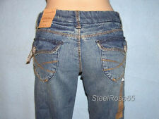NEW Aeropostale Junior Girls Chelsea Low Rise Bootcut Jeans 00 S