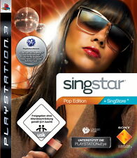 SingStar -- Pop Edition (Sony PlayStation 3, 2009) PS3 in OVP+Anleitung