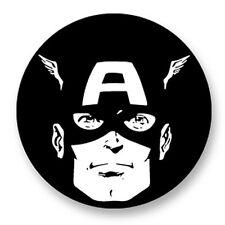 Pin Button Badge Ø38mm Captain America Marvel Univers Comics Super Hero
