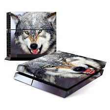 Skin Decal Cover Sticker for Sony PlayStation 4 PS4 - Wolf