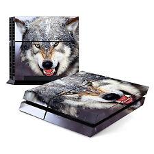 Alpha Wolf - Sony PlayStation PS4 Skin Decal Sticker Vinyl Wrap