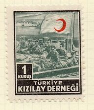 Turkey 1950s Child Welfare Early Issue Fine Mint Hinged 1K. 063123