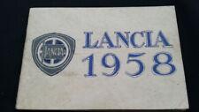 Orig. 1958 Lancia Appia Aurelia GT 2500 LKW Autobus Bus Truck Prospekt Brochure