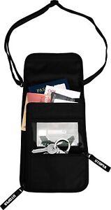Travel Neck Wallet Pouch - RFID Blocking Sleeves Passport Holder  Utopia Home