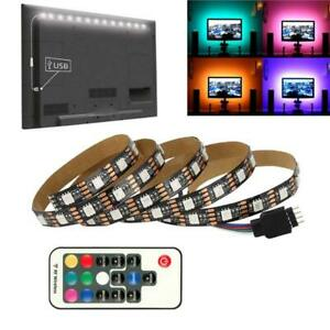 DC 5V 5050 RGB 60leds/m LED Strip USB LED Light Strips Flexible Tape Controller