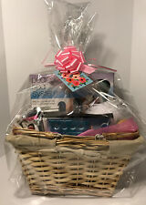 Premium Complete SPA Gift Set Basket Wrapped With Bow