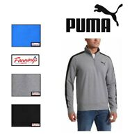 NEW! MEN'S PUMA STRETCHLITE 1/4 ZIP PULLOVER - VARIETY SIZE/COLOR - D13