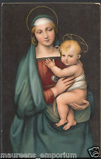 Artist Postcard - Raffaello Sanzio - La Madonna Detta Del Granduca RS888