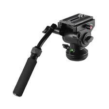 Andoer Video DSLR Camera Tripod Action Fluid Drag Pan Head Shooting Filming R9N8