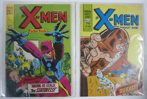 MARVEL 1982 BRITISH DIGEST TWO BOOK LOT: X-MEN #17, 26