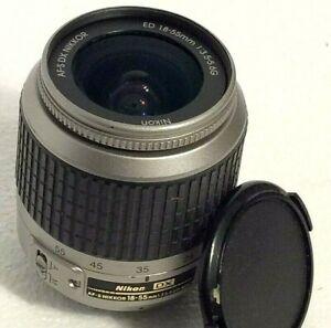Nikon AF-S DX SWM Nikkor 18-55mm f/3.5-5.6 G ED Zoom Camera Lens. Fits Nikon AF