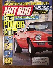 Hot Rod Magazine - August 1987
