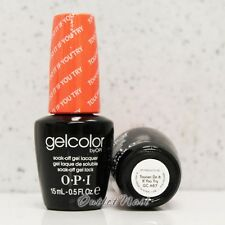 OPI GelColor Brazil Glamazons Collection 2014 - TOUCAN DO IT IF YOU TRY GC A67
