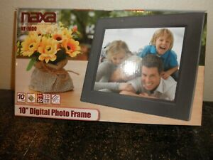 "Naxa 10"" Digital Photo Frame - BRAND NEW IN BOX"