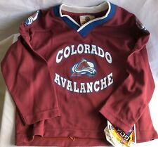 NHL Colorado Avalanche Toddler Unisex Long Sleeve Jersey 3T NEW