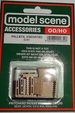 New Model Scene Accessories Pallets Ref.5081