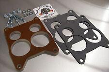 For Rochester Quadrajet Carburetor Phenolic Insulator Spacer Heat Soak Riser 1/2