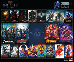 Buffalo Games Marvel Infinity Saga Posters 2000 Piece Jigsaw Puzzle