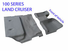 To suit Toyota Land Cruiser 100 Series Moulded Rubber Vinyl Front and Rear