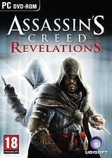 Assassin's Assassins Creed Revelations (Original PC Games) Sealed New