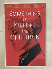 SOMETHING IS KILLING THE CHILDREN #2 NM 1ST PRINT DELL'EDERA BOOM! COMICS UNREAD