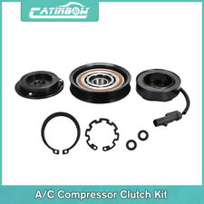 AC A/C Compressor & Clutch KIT PULLEY COIL for DODGE RAM JEEP MITSUBISHI us#