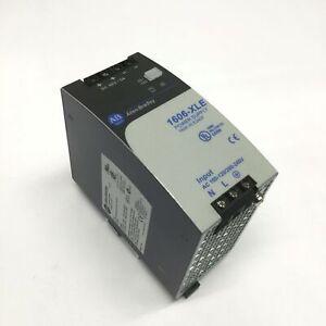 Allen Bradley 1606-XLE240F Power Supply 100-120/200-240VAC In, 48VDC 5A Out 240W