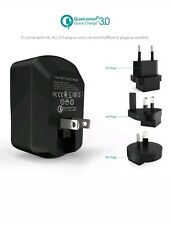 AUSTRALIA Qualcomm Certified QC3.0 USB 3 Port Wall Charger AU/EU/UK/US BLITZWOLF