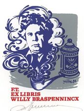 Ex Libris Willy Braspennincx : Opus 35, Willy Braspennincx