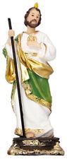 "Saint Jude - Thaddeus - 5"" Florentine Resin Statue - Beautiful Religious Gift"