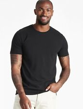 LUCKY BRAND Saturday Stretch Crew T-Shirt.  Jet Black SMALL. MSRP: $29.50